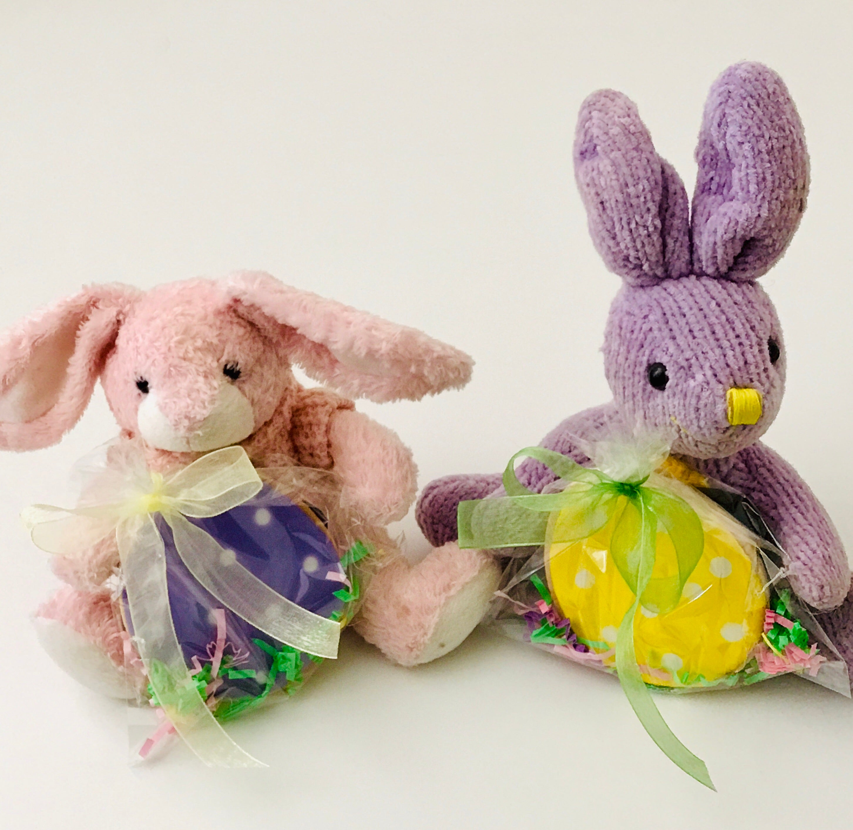 BUNNY PLUSH with EASTER EGG COOKIE FAVOR 2018