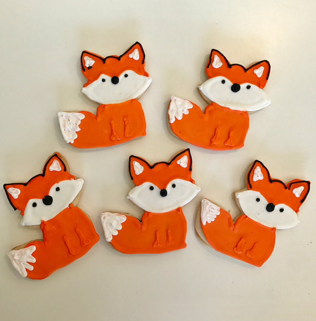 COOKIE FAVORS ANIMALS/FOXES