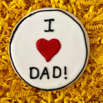 FATHER'S DAY I ❤️DAD COOKIE FAVOR