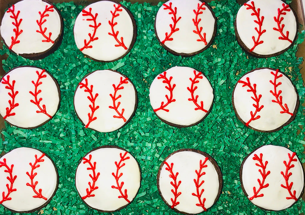 COOKIE BOX JUST BECAUSE BASEBALL