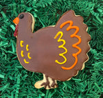 THANKSGIVING TURKEY COOKIE FAVOR