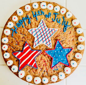 4th of July SUMMER COOKIE CAKE