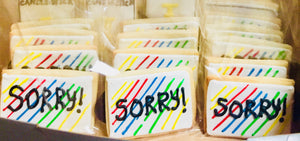 COOKIE FAVORS GAMES/SORRY