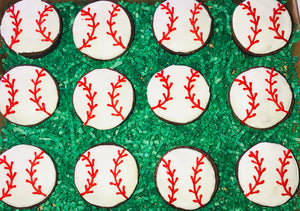 GOURMET BROWNIES BASEBALL
