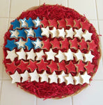 COOKIE PLATTER STAR FLAG