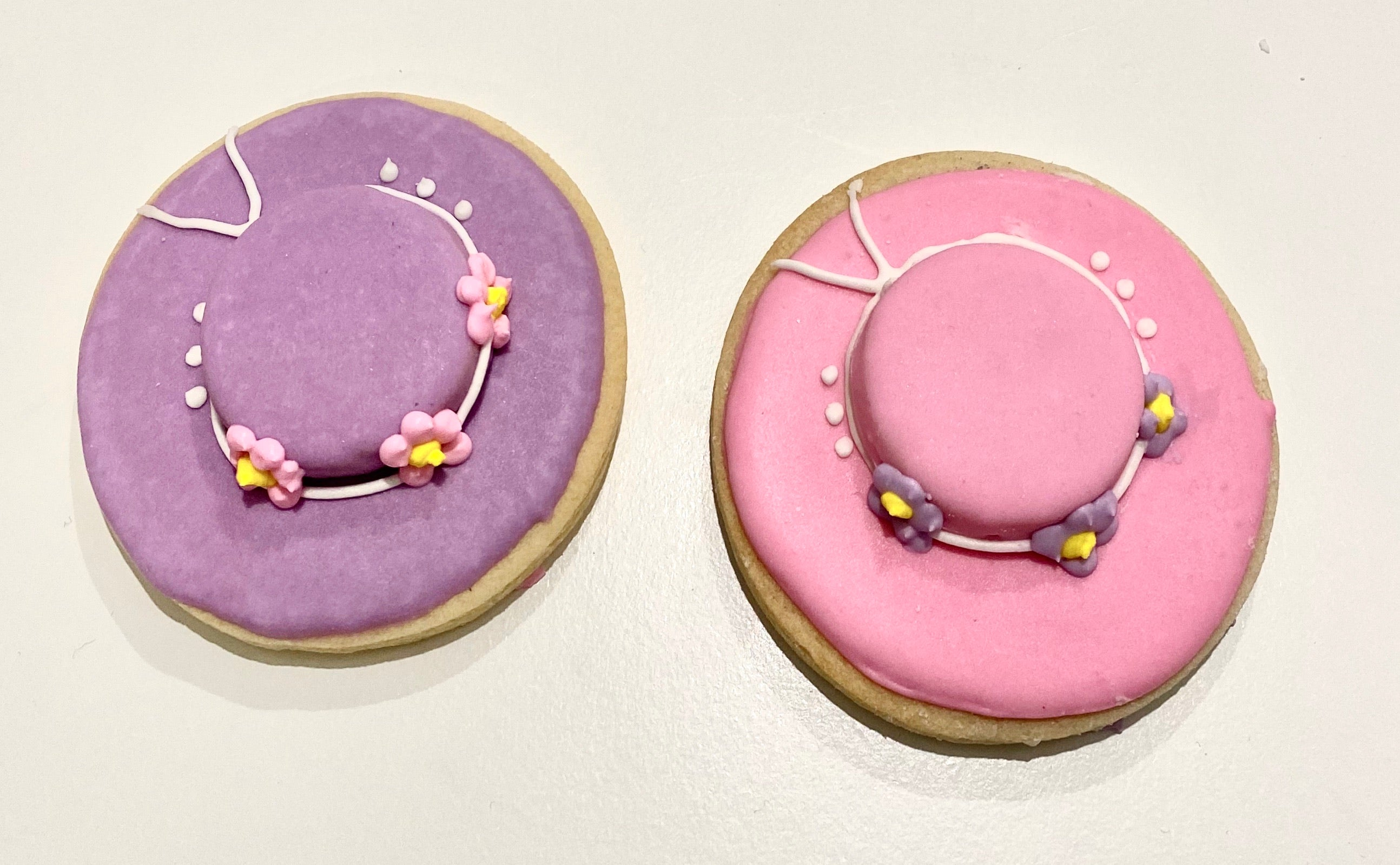 Mother's Day Sun Hat Cookies