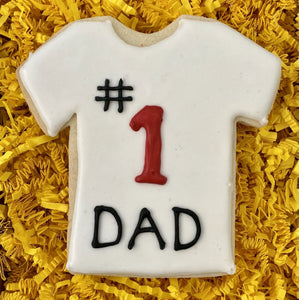 FATHER'S DAY # 1 DAD COOKIE FAVOR