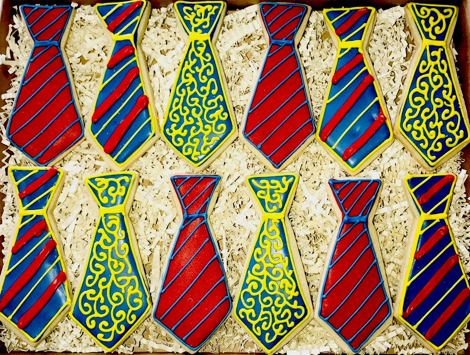 COOKIE BOX FATHER'S DAY TIES