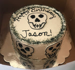 EVENT CAKE - Silly Skullz Birthday