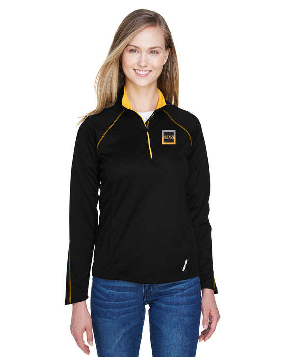 North End Radar 1/4 Zip Performance Long-Sleeve Top
