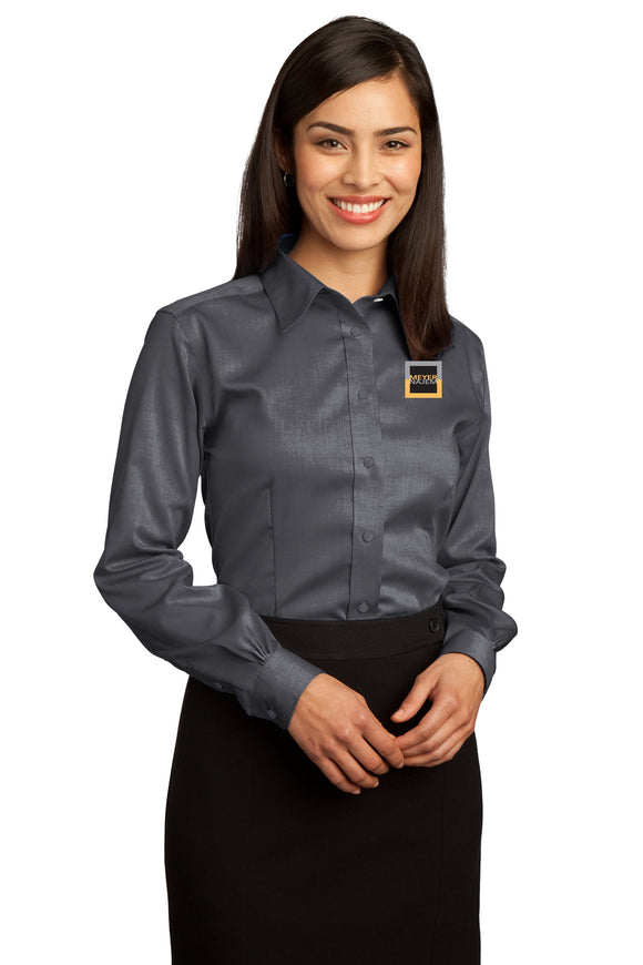 Red House® - Ladies Non-Iron Pinpoint Oxford Shirt