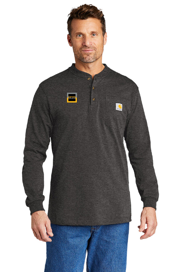 Carhartt® Long Sleeve Henley T-Shirt