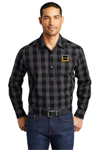 Port Authority® Everyday Plaid Shirt