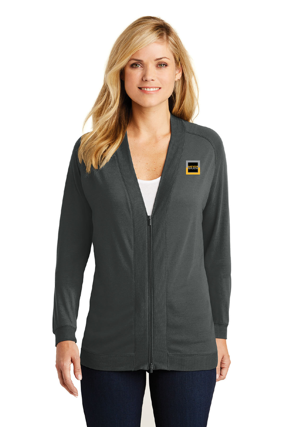 Port Authority® Ladies Concept Bomber Cardigan