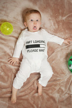 Fart Loading Please wait...100% Organic Cotton Baby Romper