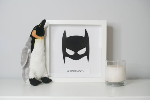Superhero - My little Hero - Frame Gift