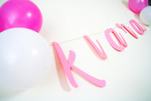 Personalised Party Banner - Birthday Party - Baby Shower