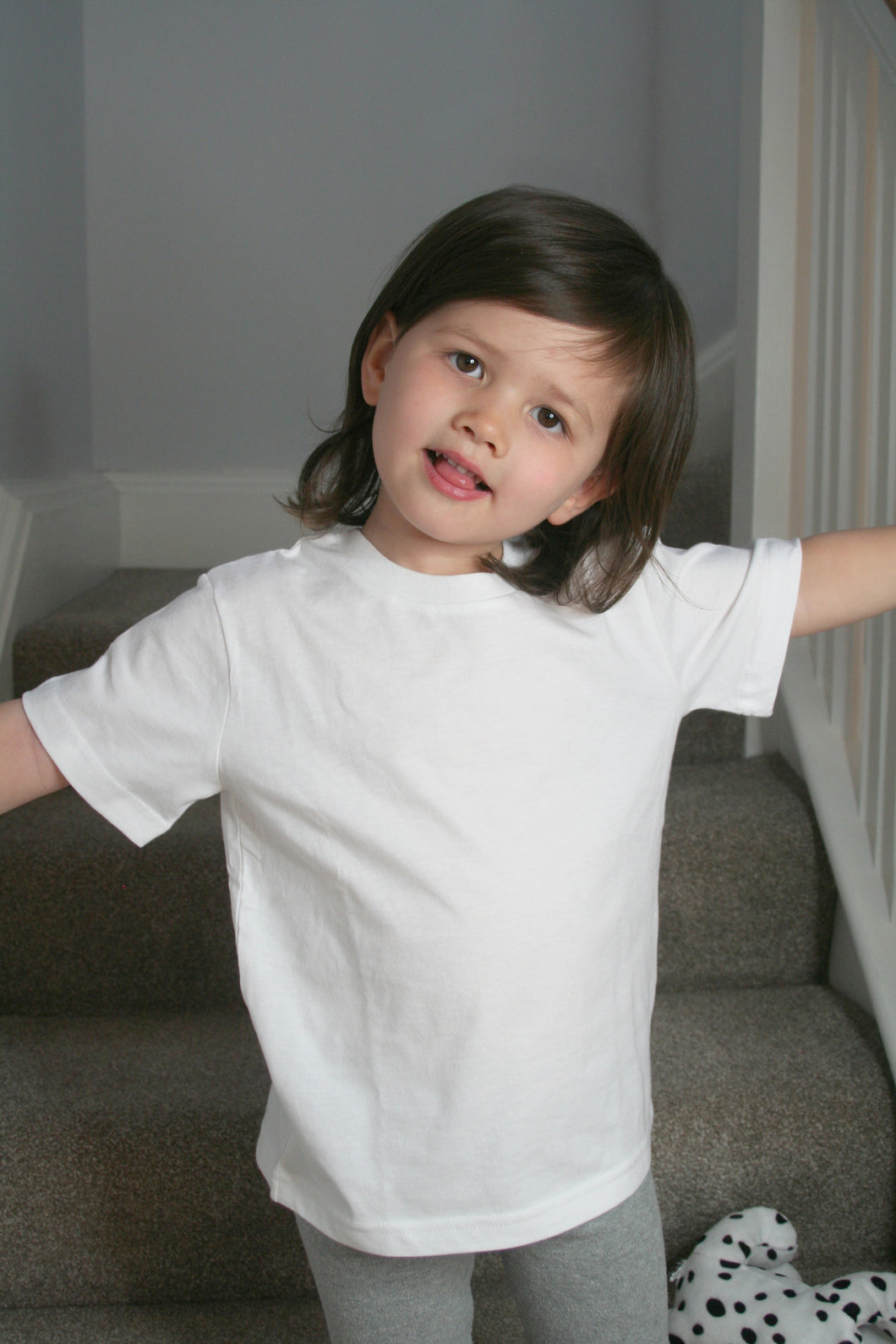 White Organic Cotton Kid T-shirt