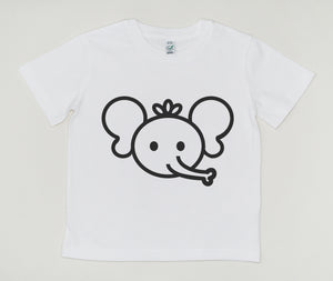 Happy elephant Organic Cotton T-shirt