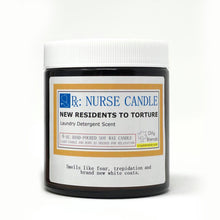 Load image into Gallery viewer, Nurse Candles - 6 oz Soy Wax Candles
