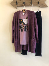 Load image into Gallery viewer, Lush Plum Cardigan