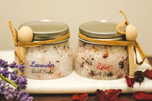 Load image into Gallery viewer, SPA SALTS made with essential oils