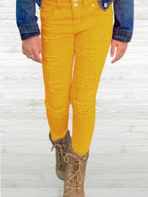Load image into Gallery viewer, Kids Distressed Jeans