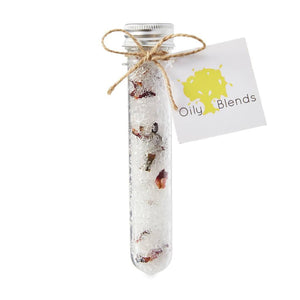 Essential Oil Bath Salt Vial