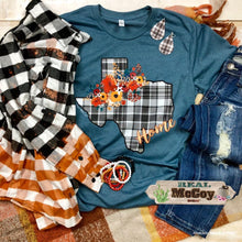 Load image into Gallery viewer, Plaid Texas Tee