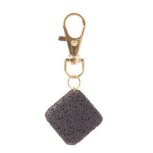Load image into Gallery viewer, Lava Stone Keychain