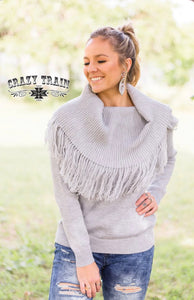The Shanna Sweater (Grey)