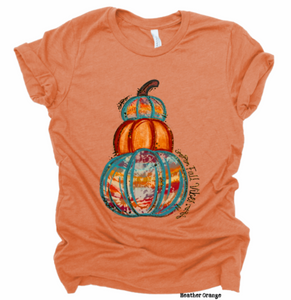 Fall Vibes Pumpkin Stack