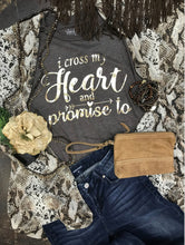 Load image into Gallery viewer, Rose Gold Heart Tee (Navy)
