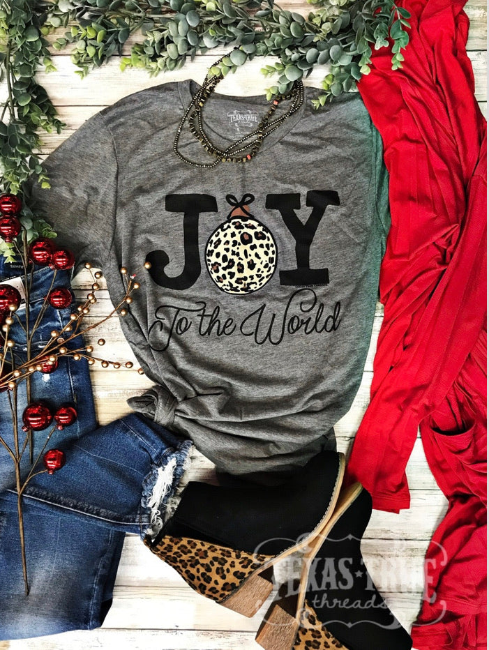 Joy to the world 🌎 tee
