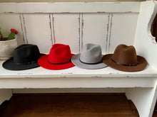 Load image into Gallery viewer, Fedora Wide brim hats
