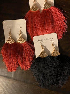 Sass it up earrings