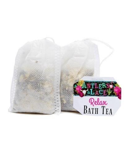 Set of 100 Custom Bath Tea - Single Bags