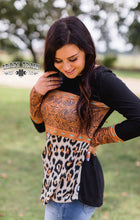 Load image into Gallery viewer, Leopard n Leather tops