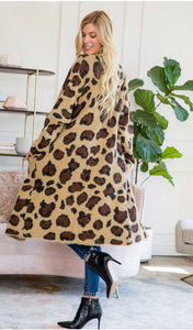 Leopard cardigan Love