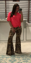Load image into Gallery viewer, Leopard Lady Bell Bottoms