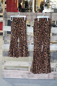 Leopard Lady Bell Bottoms
