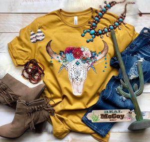 Steer floral blossom tee