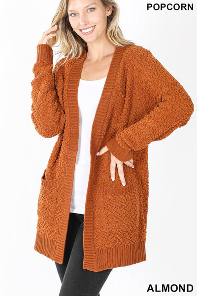 Almond Colored Cardigan