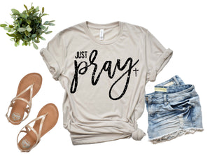 Just Pray - Distressed | Wholesale