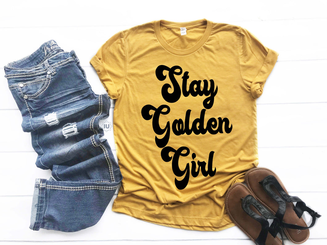 Stay Golden Girl | Wholesale