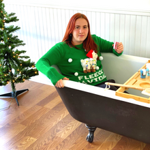 Load image into Gallery viewer, Christmas Bath Shots - Ugly Christmas Sweater