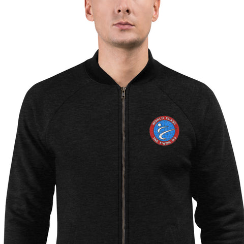 Bomber Jacket w/ Embroidered Logo
