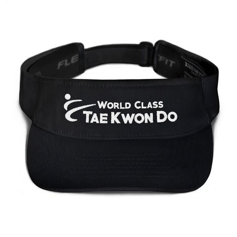 World Class Tae Kwon Do Embroidered Visor
