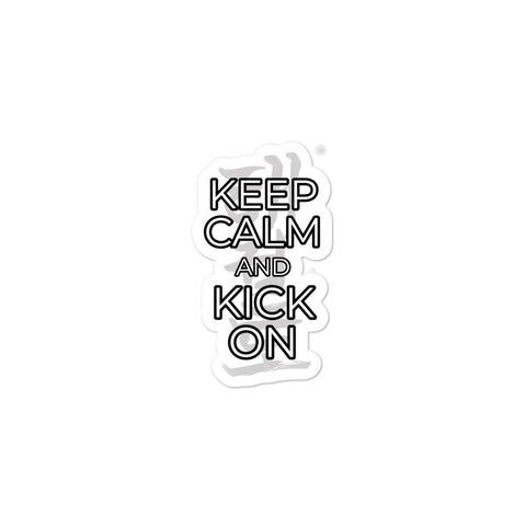 Keep Calm Sticker - 3 Sizes Available!