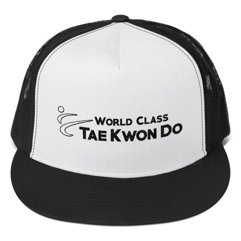 World Class TKD Embroidered Trucker Cap